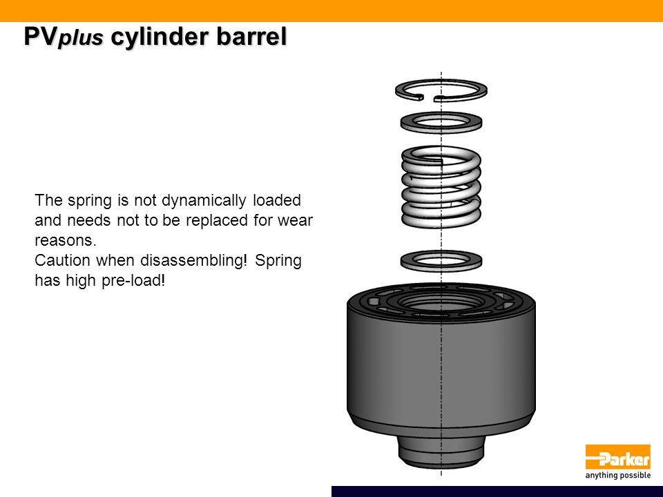 PVplus cylinder barrel