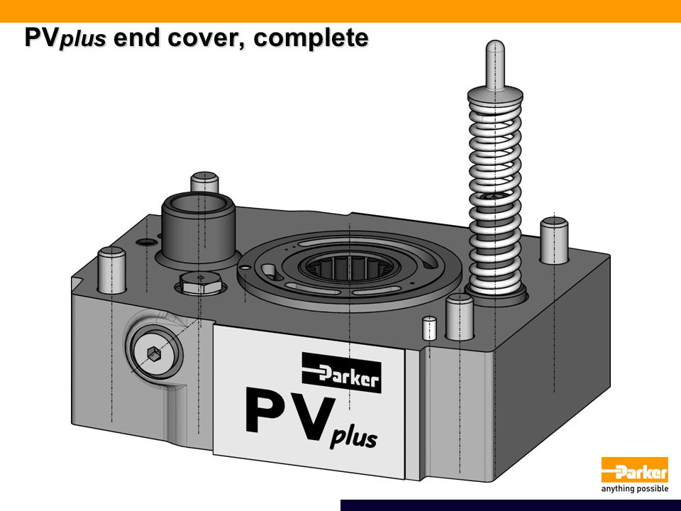 PVplus end cover, complete