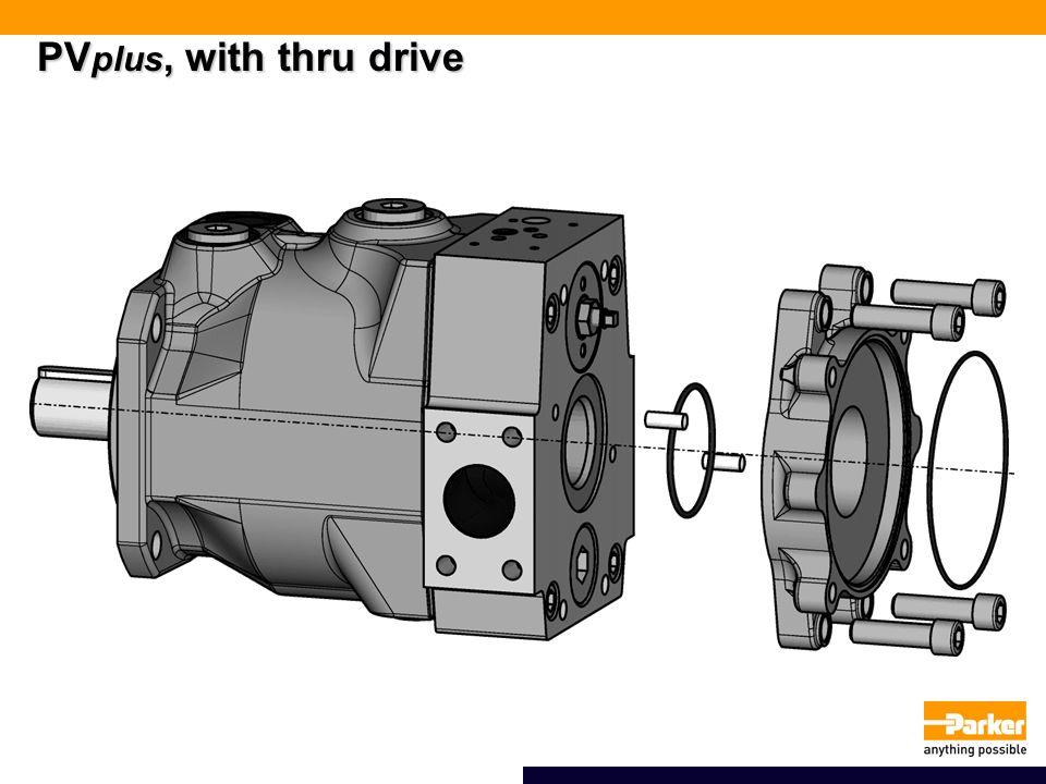 PVplus, with thru drive
