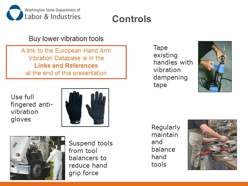 Buy lower vibration tools