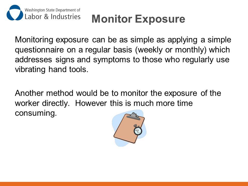 Monitor Exposure