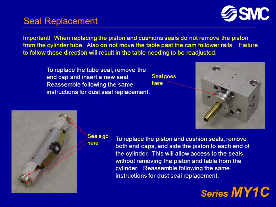 Seal Replacement Series MY1C