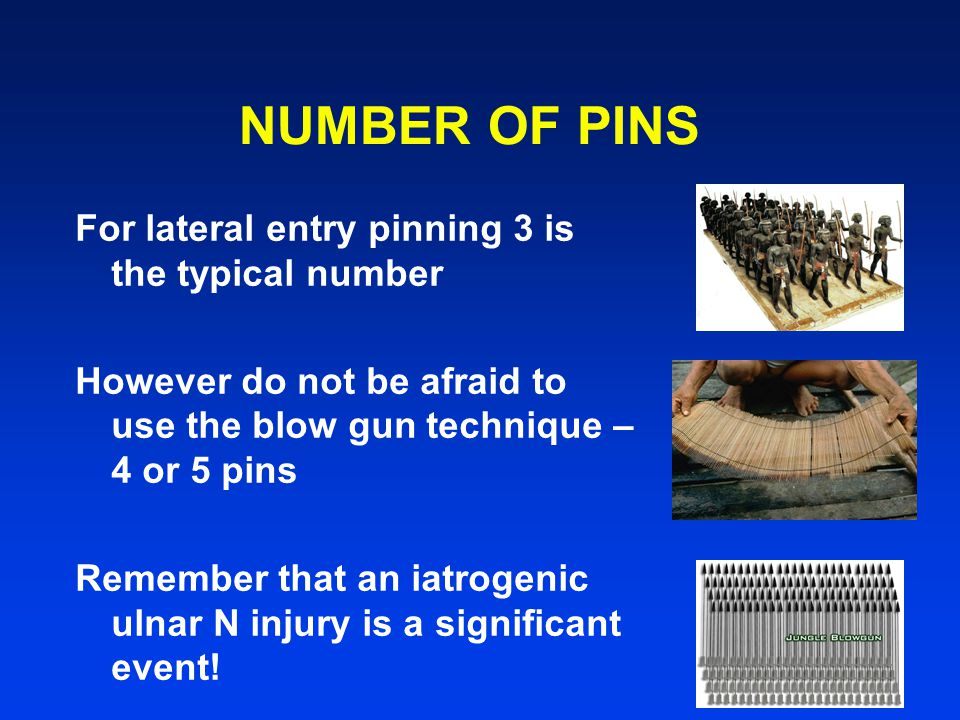 NUMBER OF PINS