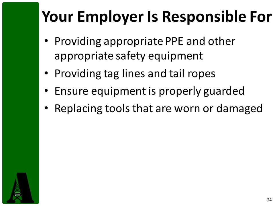 Your Employer Is Responsible For
