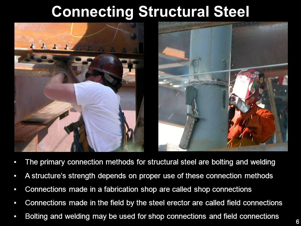 Connecting Structural Steel