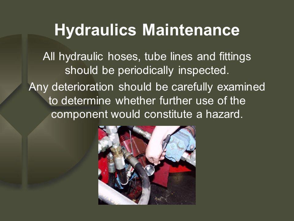 Hydraulics Maintenance