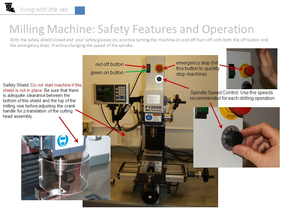 Milling Machine: Safety Features and Operation