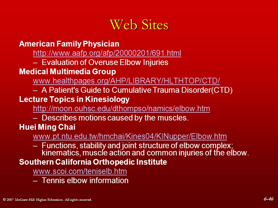 Web Sites American Family Physician