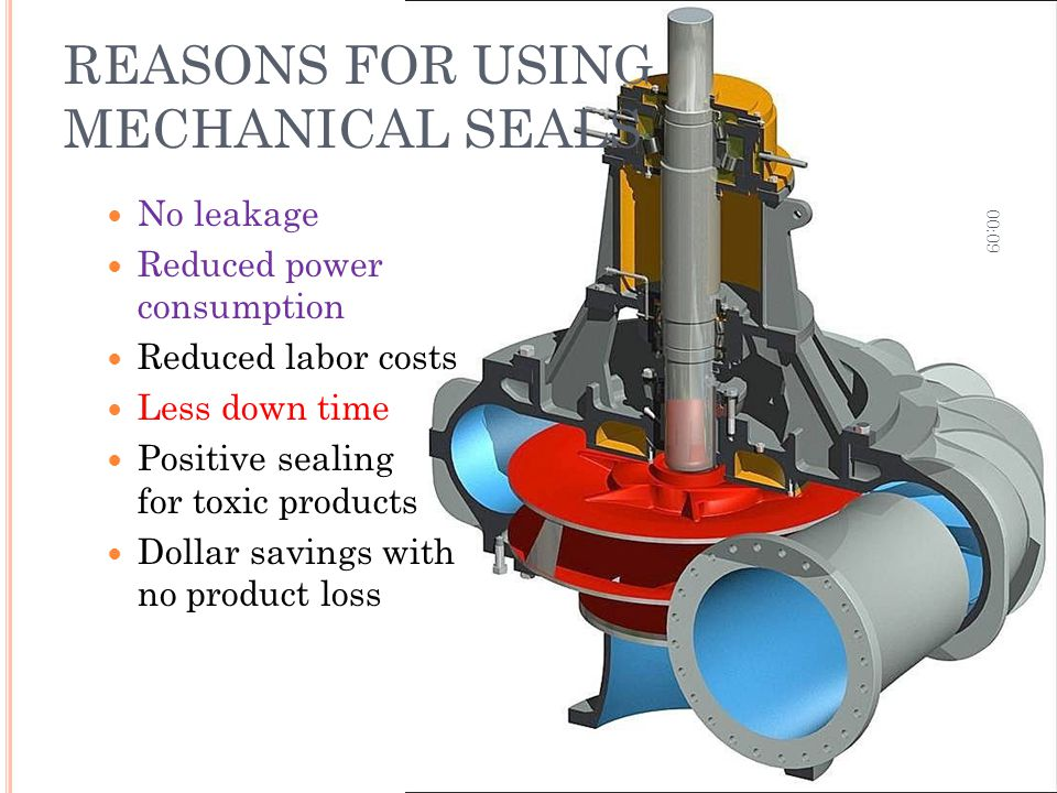 REASONS FOR USING MECHANICAL SEALS