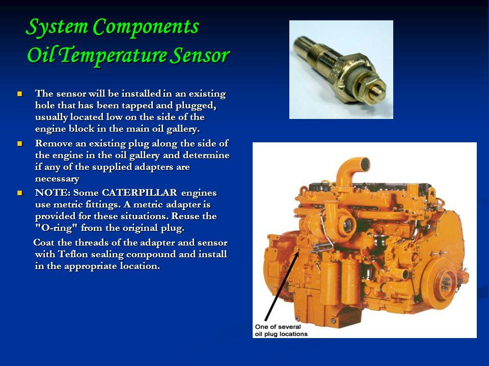 System Components Oil Temperature Sensor