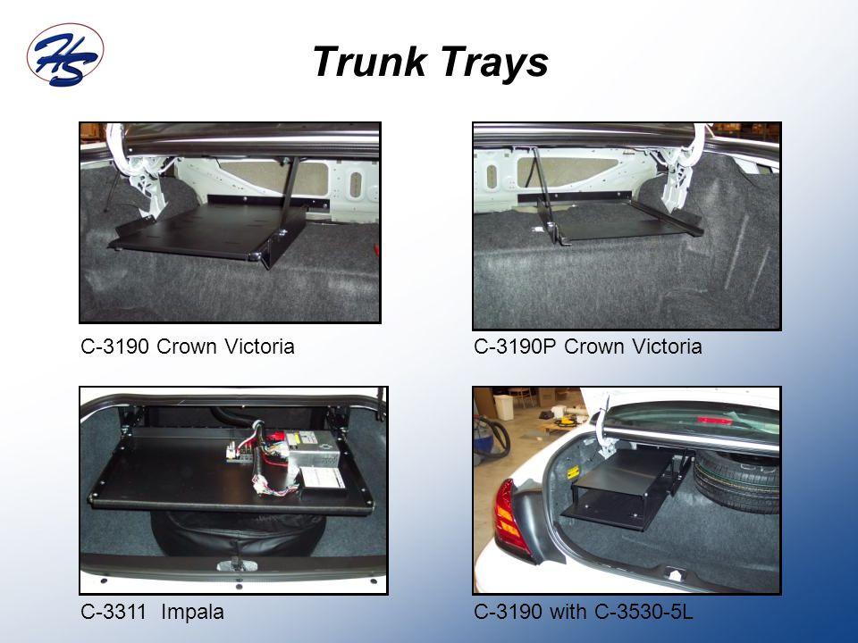 Trunk Trays C-3190 Crown Victoria C-3190P Crown Victoria C-3311 Impala