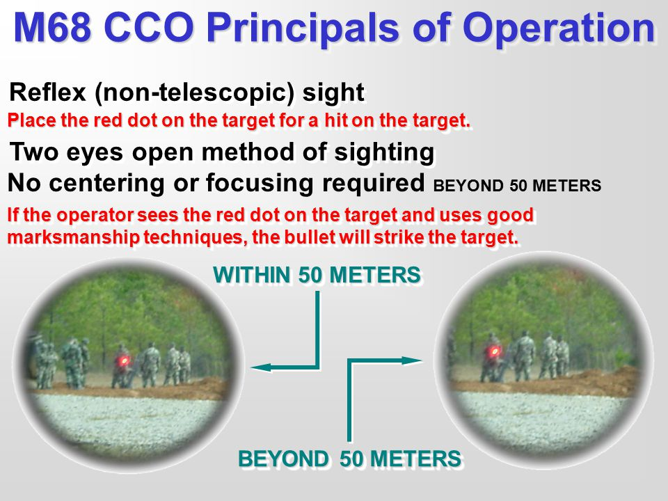 M68 CCO Principals of Operation