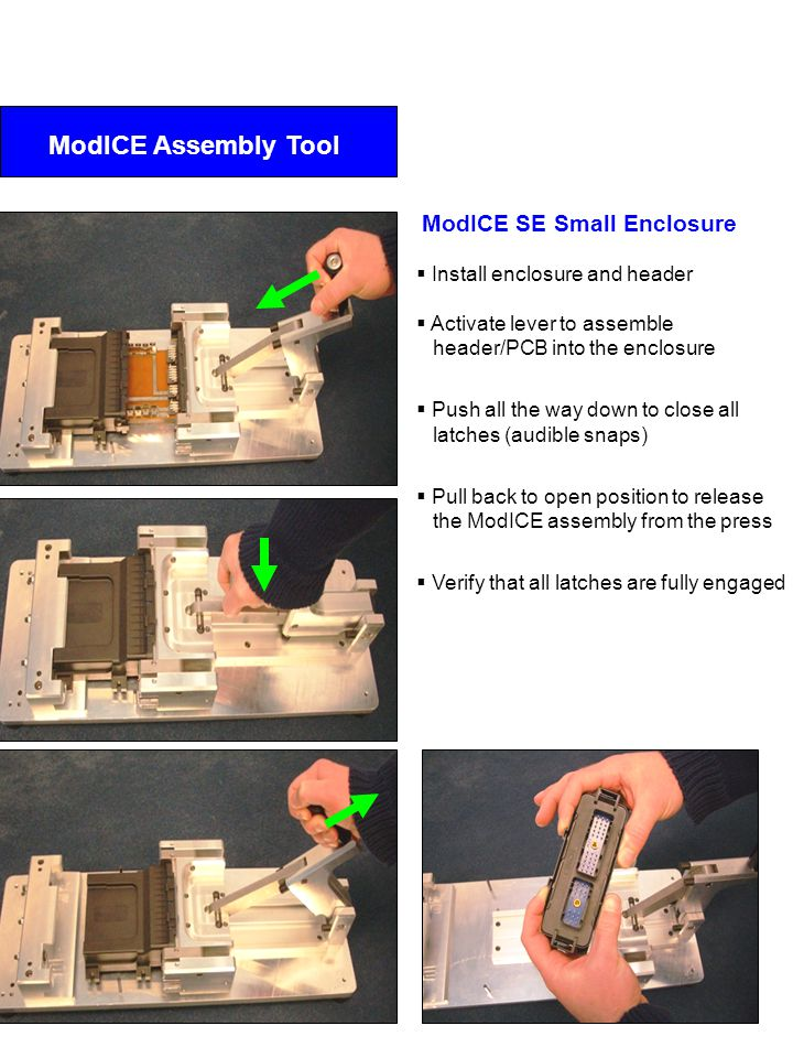 ModICE Assembly Tool ModICE SE Small Enclosure