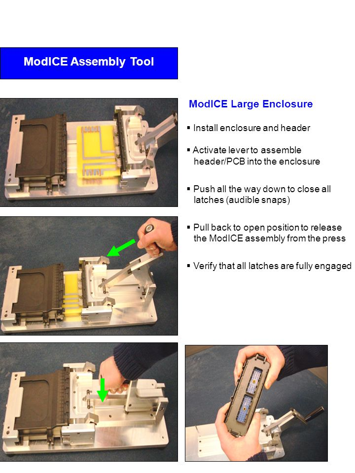 ModICE Assembly Tool ModICE Large Enclosure