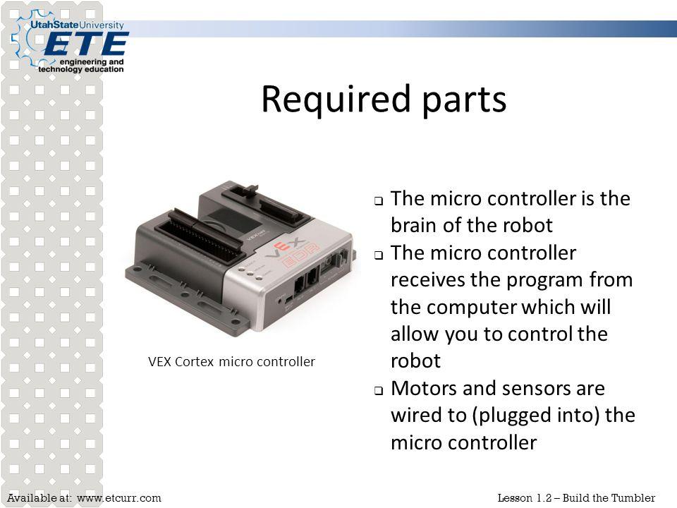 VEX Cortex micro controller