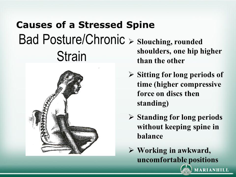 Bad Posture/Chronic Strain
