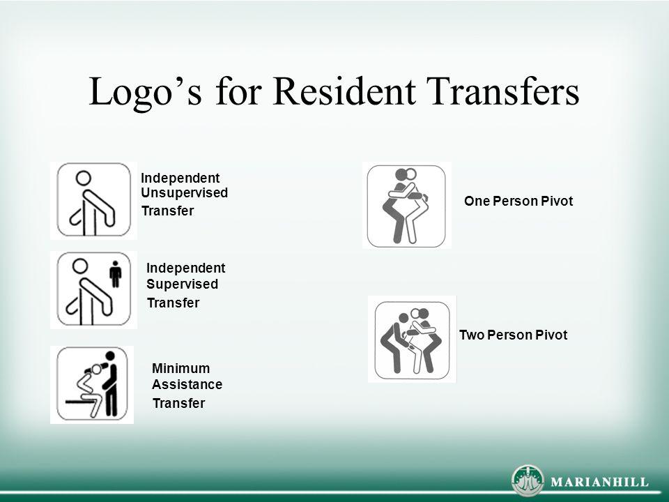 Logo's for Resident Transfers