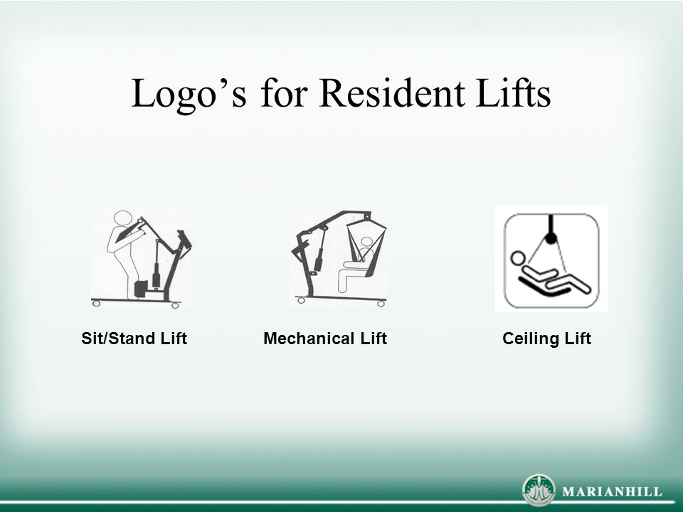Logo's for Resident Lifts