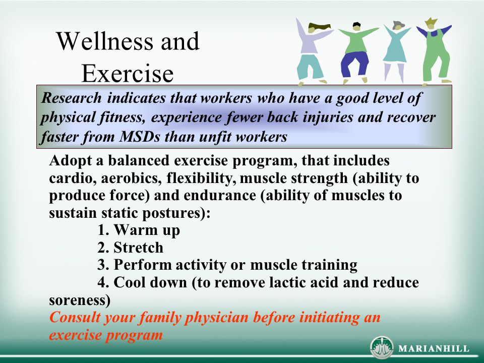 Wellness and Exercise