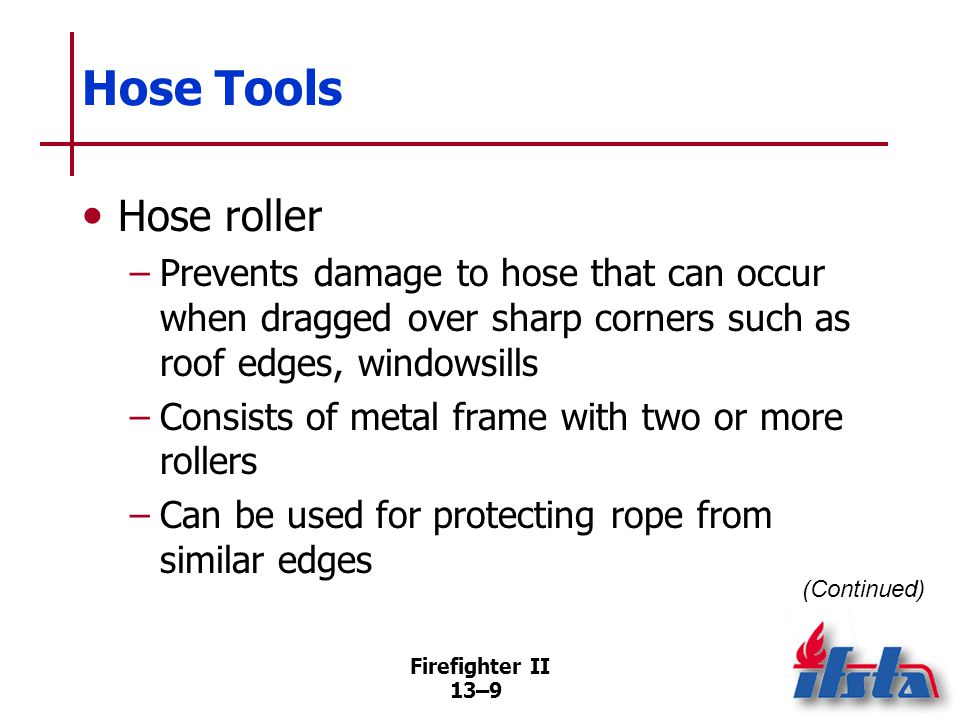 Hose Tools Hose jacket. Can be installed on ruptured section of hoseline to temporarily close rupture.