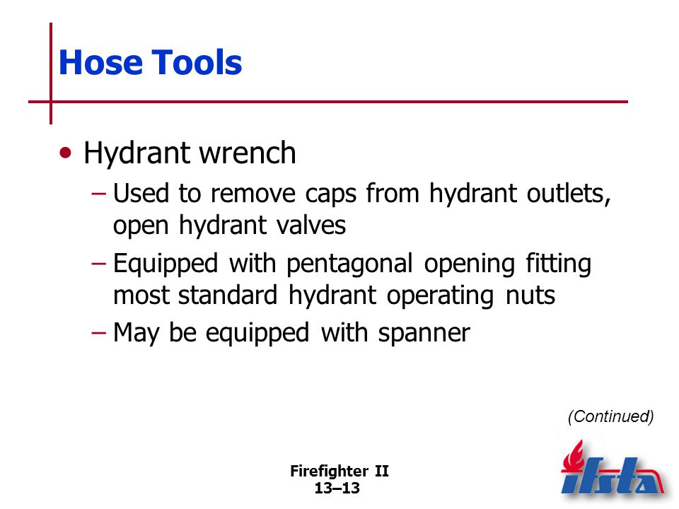 Hose Tools Rubber mallet — Strike lugs to tighten/loosen couplings