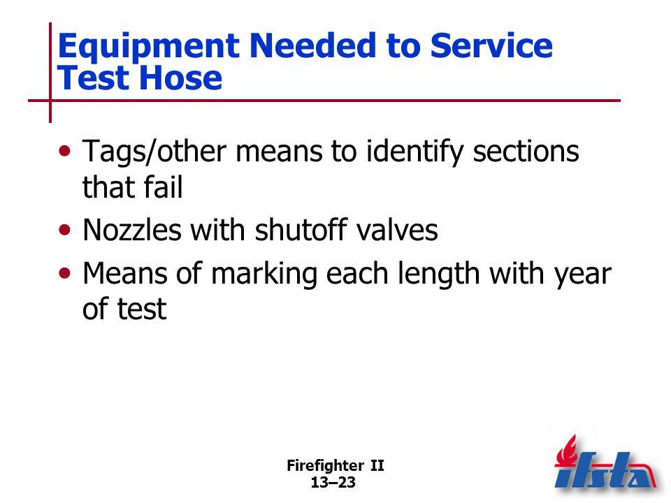 Service Test Procedure