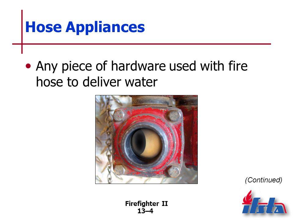 Hose Appliances Valves