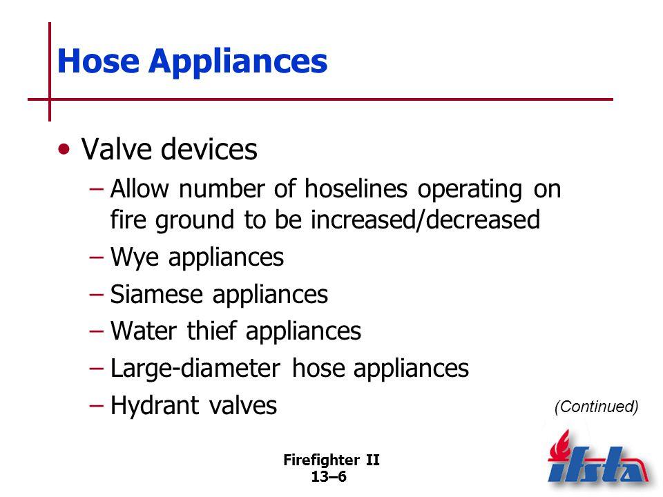 Hose Appliances Fittings