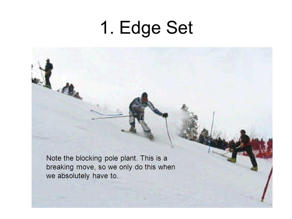 1. Edge Set Note the blocking pole plant.