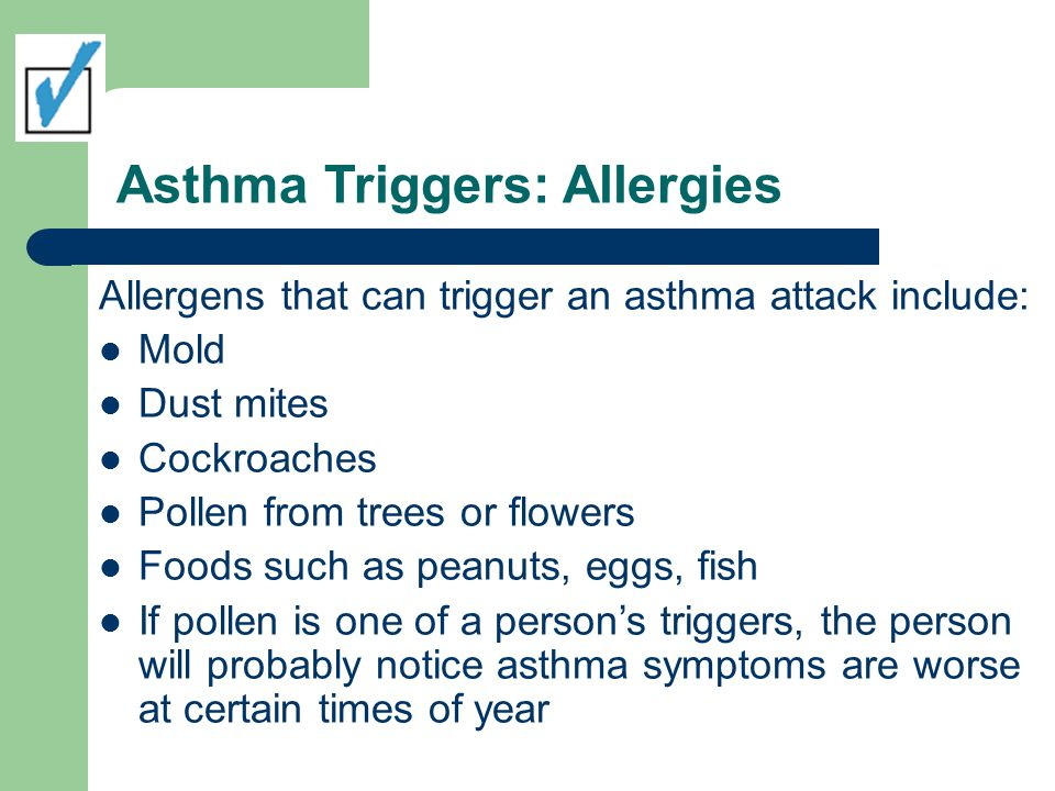 Asthma Triggers: Allergies