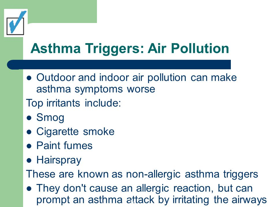 Asthma Triggers: Air Pollution