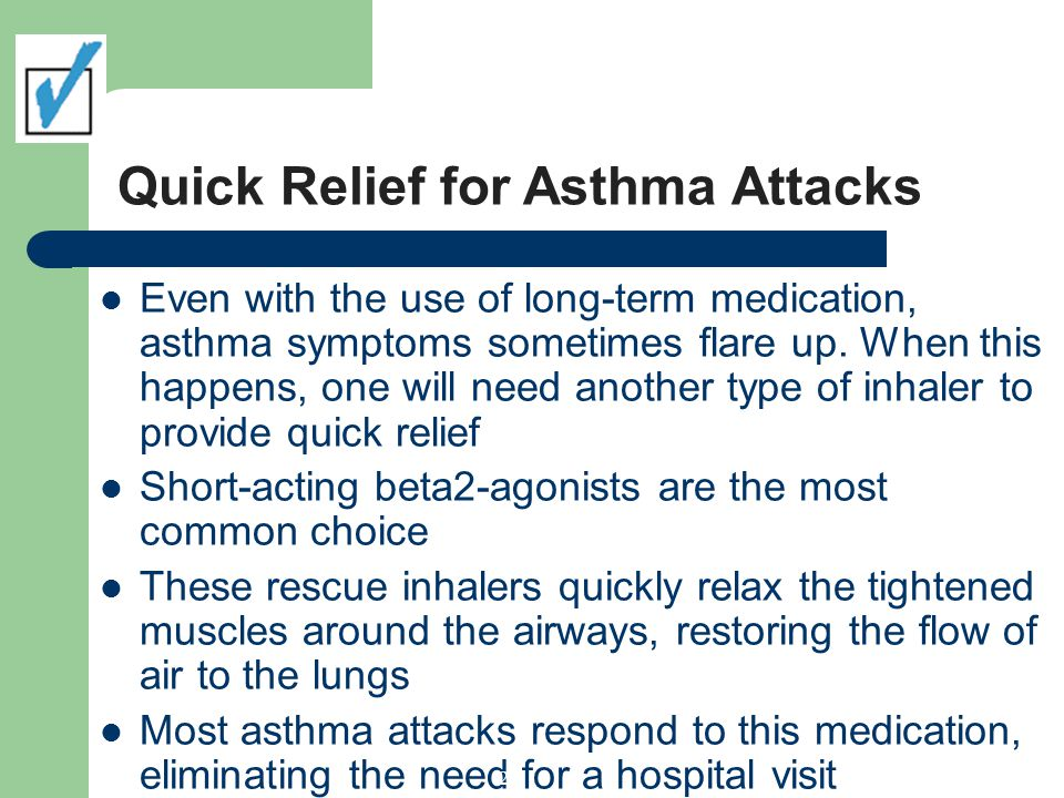 Quick Relief for Asthma Attacks