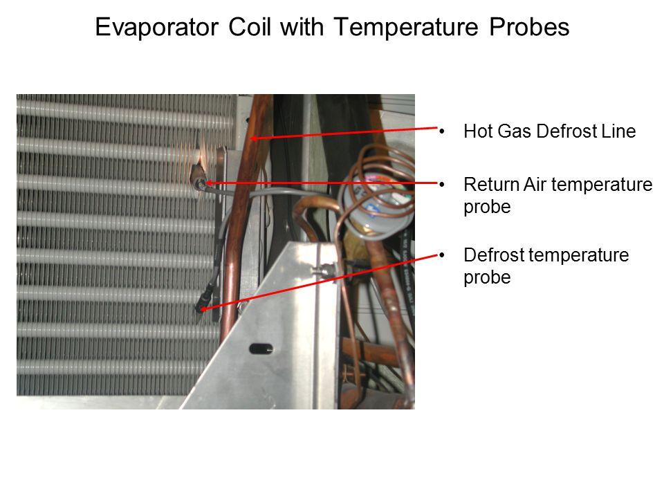 Evaporator Coil with Temperature Probes