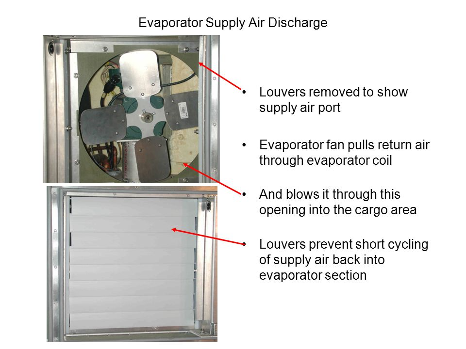 Evaporator Supply Air Discharge