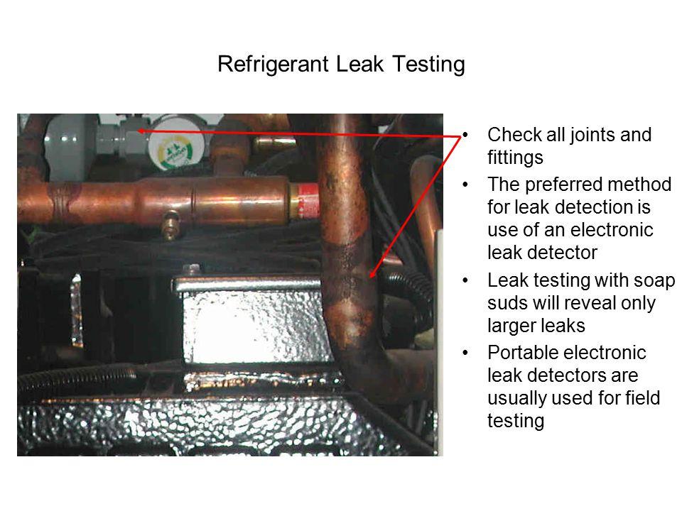 Refrigerant Leak Testing