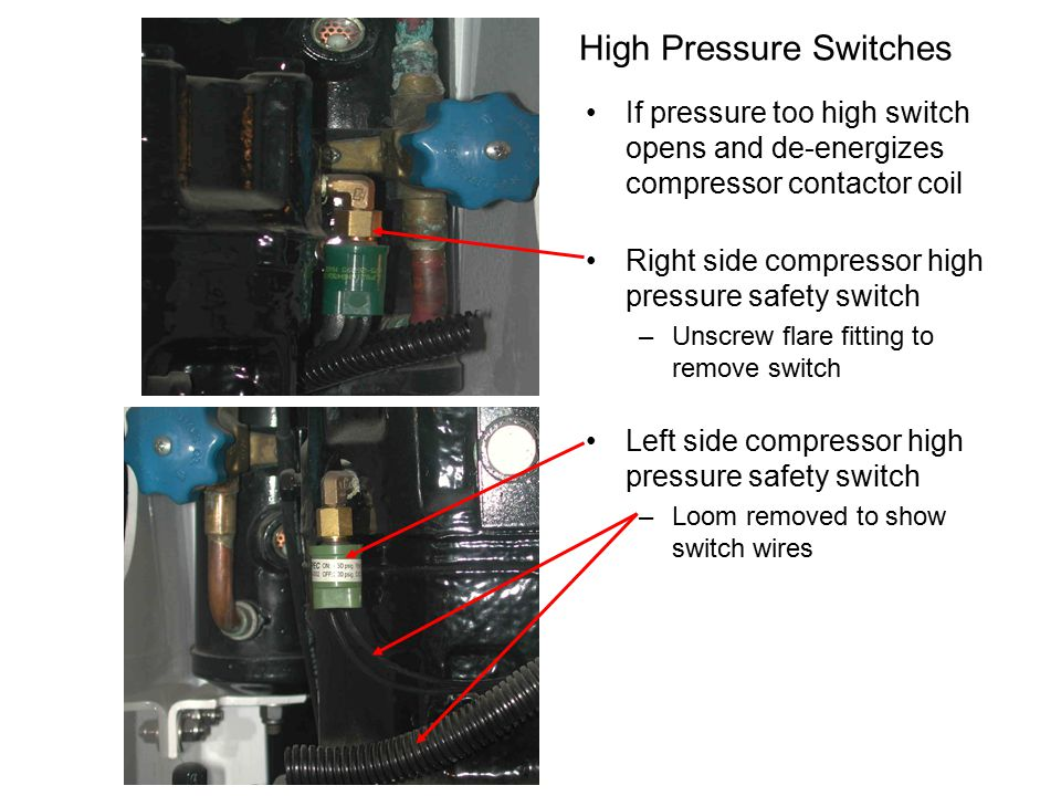 High Pressure Switches