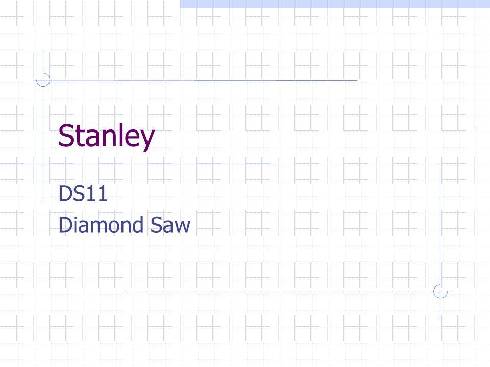 Stanley DS11 Diamond Saw