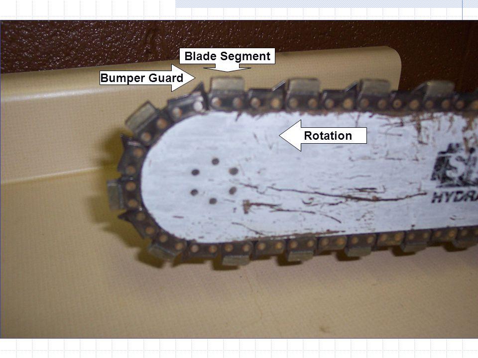 Blade Segment Bumper Guard Rotation