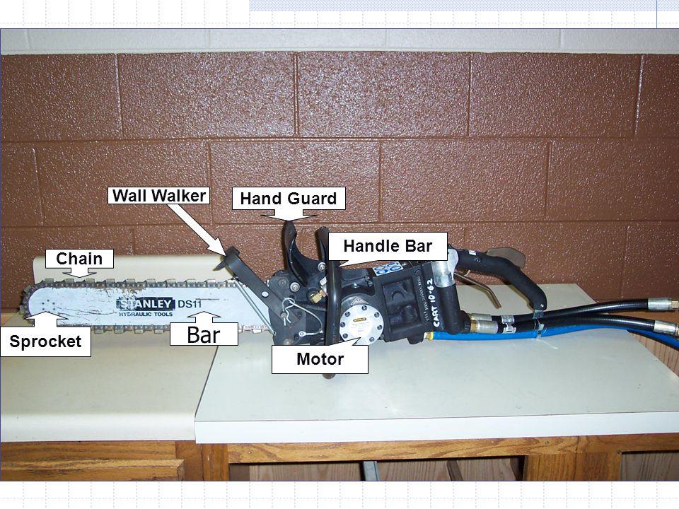 Wall Walker Hand Guard Handle Bar Chain Sprocket Bar Motor