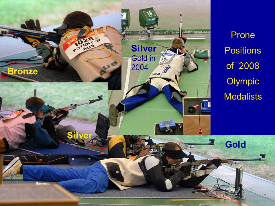 Prone Positions of 2008 Olympic Medalists