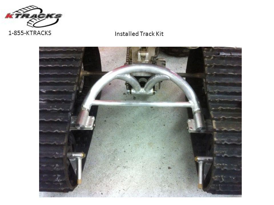 1-855-KTRACKS Installed Track Kit