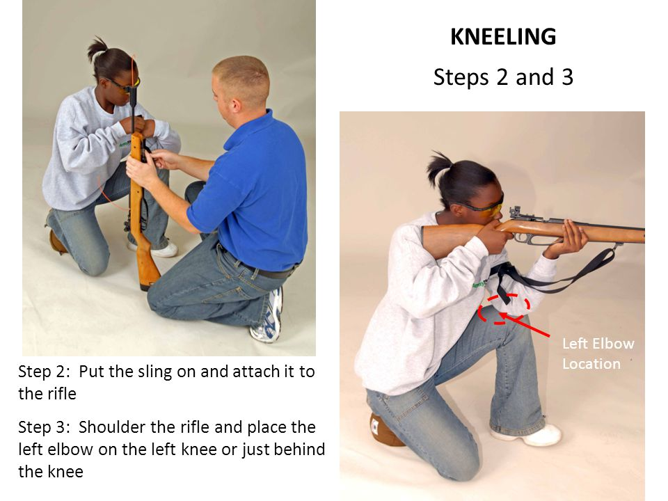 KNEELING Steps 2 and 3. 7D.4 Kneeling, Steps 2 and 3.