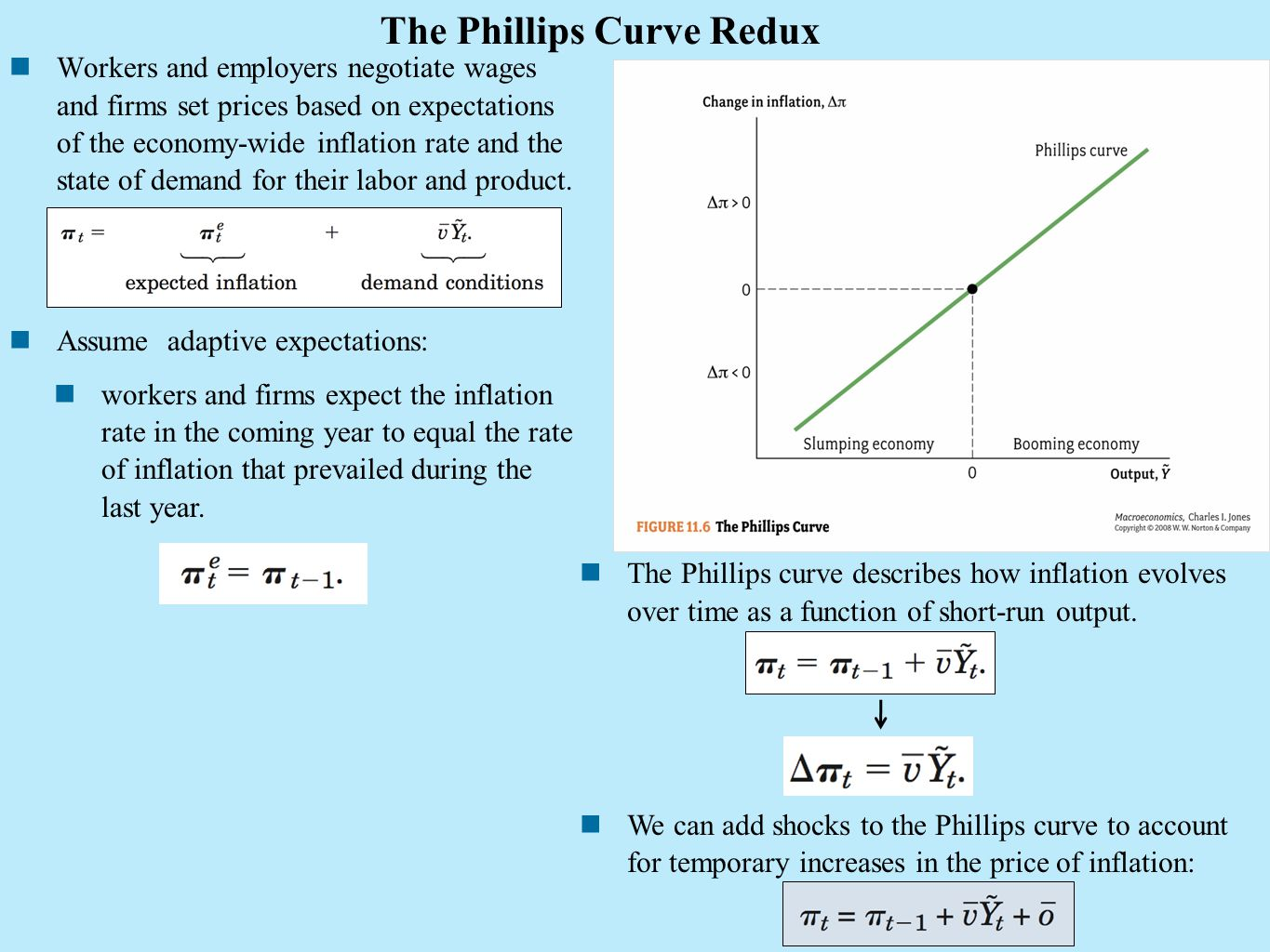 The Phillips Curve Redux