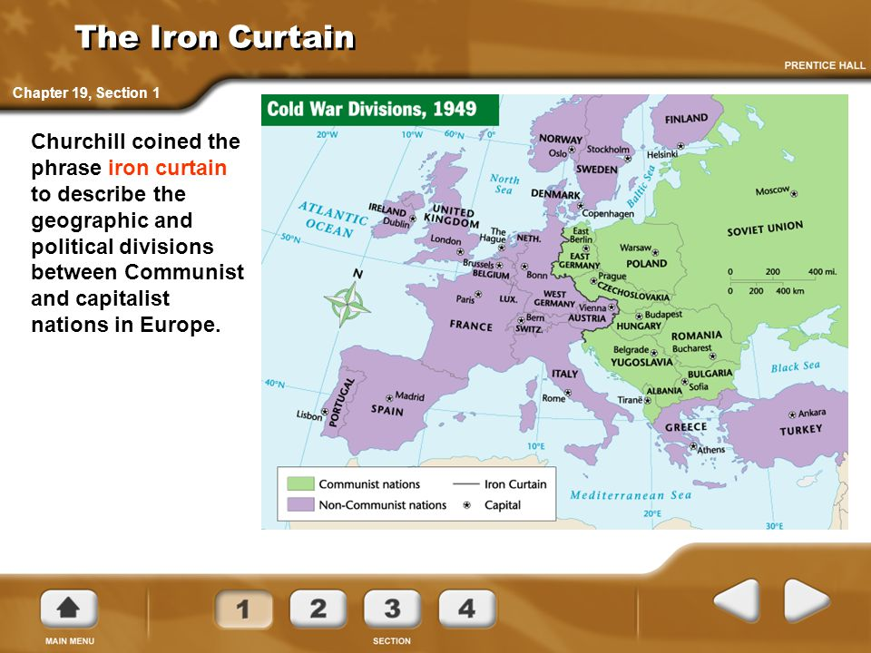 The Iron Curtain Chapter 19, Section 1.
