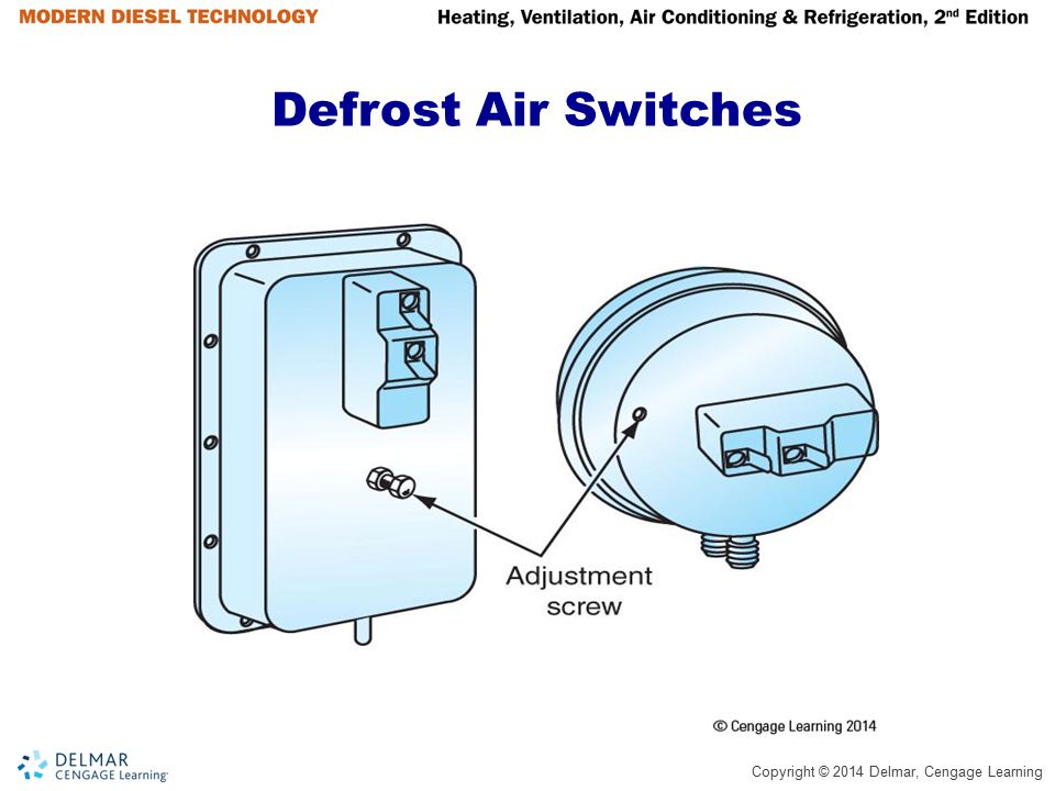 Defrost Air Switches