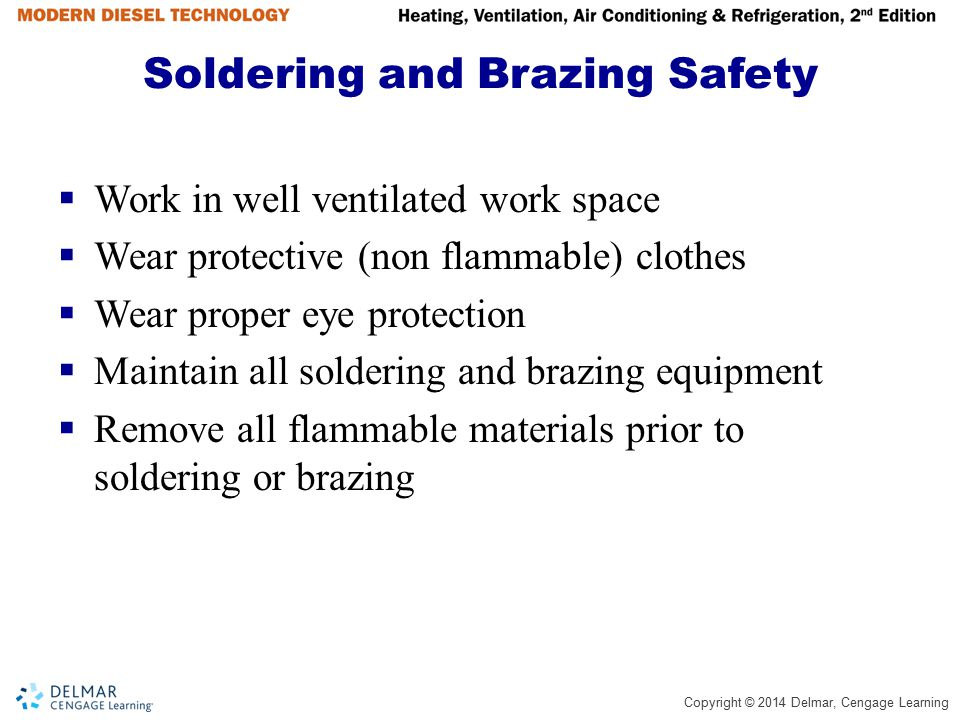 Soldering and Brazing Safety
