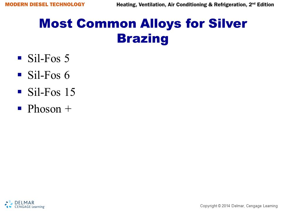 Most Common Alloys for Silver Brazing