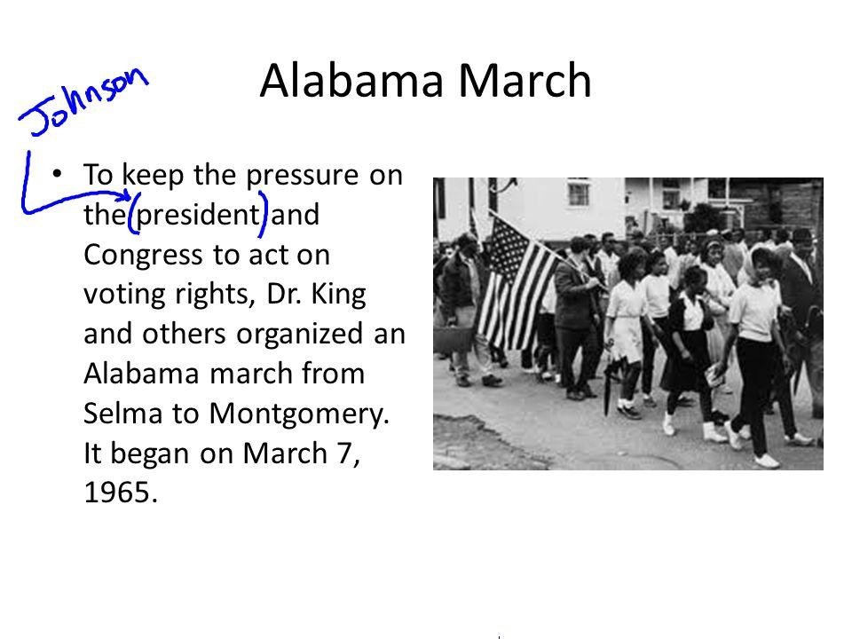 Alabama March