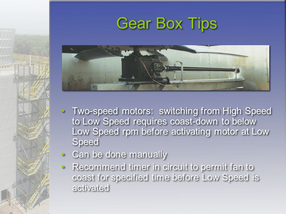 Gear Box Tips
