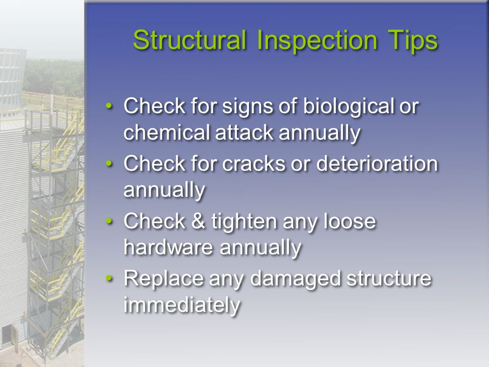 Structural Inspection Tips